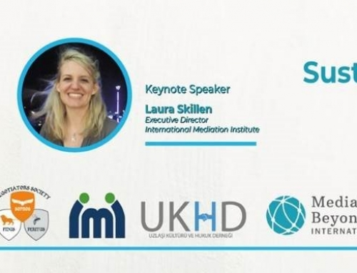 "IMI Executive Director to Keynote at ""Negotiation for Sustainable Relations"" Conference, Istanbul"