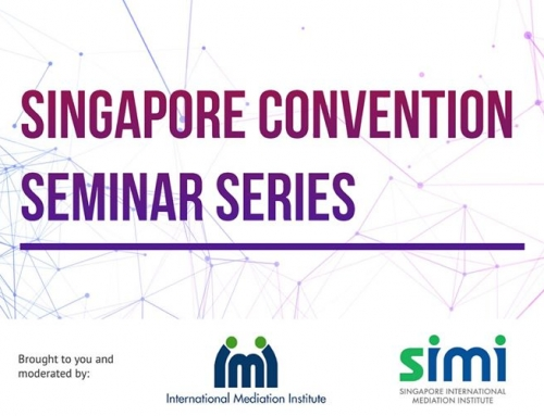 Singapore Convention Online Seminar Series: The Line-up